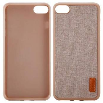 Тканевый чехол для iPhone 7 (Светлая ткань) Baseus Sunie Series Leather Case