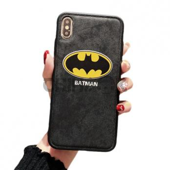 Чехол из кожи для iPhone - BATMAN