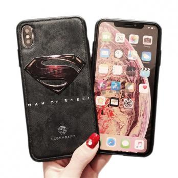 Чехол из кожи для iPhone - SUPERMAN