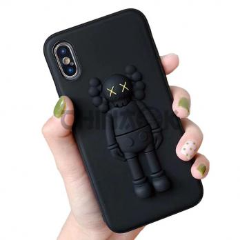 Чехол Fashion 3D Cartoon Stereo XX Kaws Toy для iPhone X/XS/XS Max
