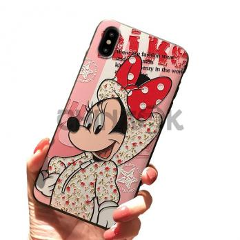 Чехол Minnie Mouse Nike для iPhone 6/6S/7/8/7 Plus/8 Plus/X/XS/Xr/XS Max