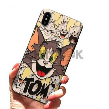 Чехол Tom and Jerry (Tom) для iPhone 6/6S/7/8/7 Plus/8 Plus/X/XS/Xr/XS Max
