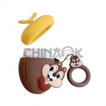 Чехол для AirPods Chip and Dale (Chip)