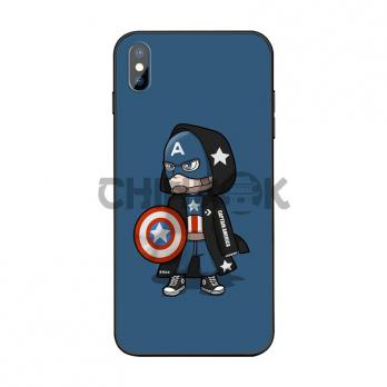 Чехол Marvel Complex Hero (Captain America) для iPhone Xr/X/XS/XS Max