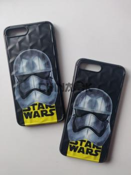 Чехол Star Wars Черный для Iphone 8 plus