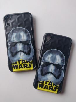 Чехол Star Wars Черный для Iphone XR